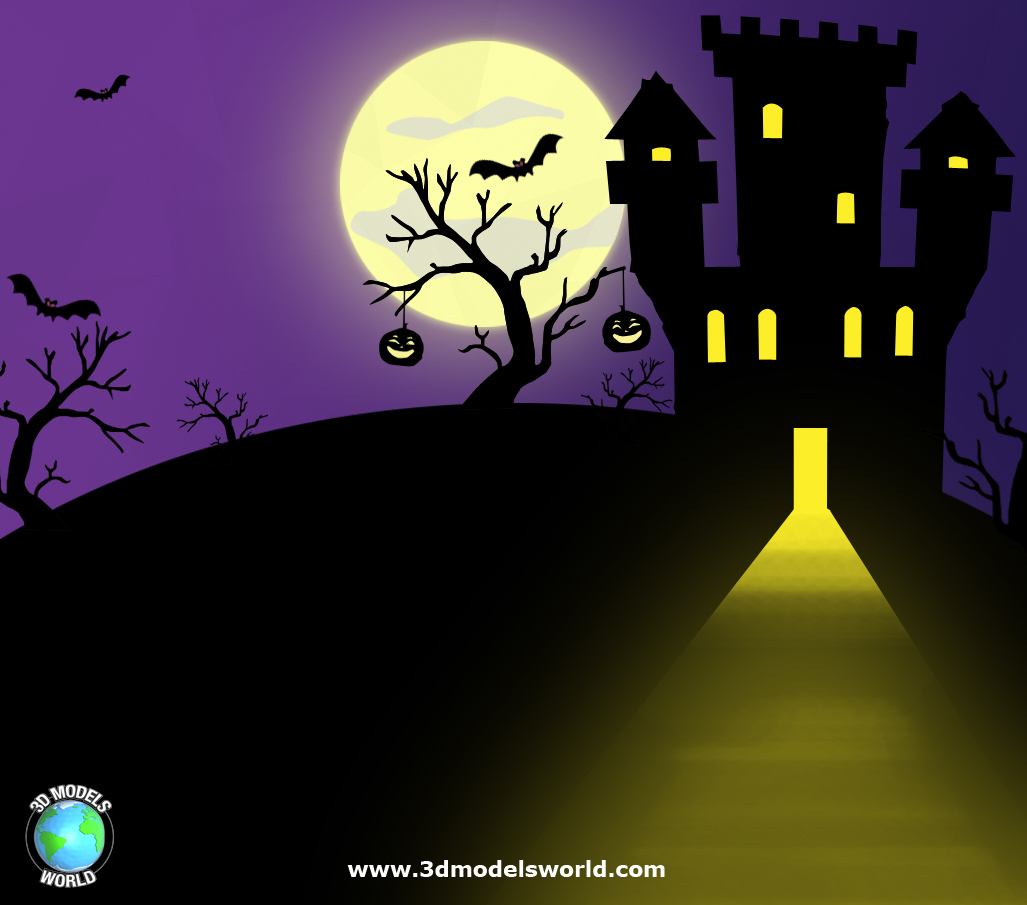 3d-models-world-halloween