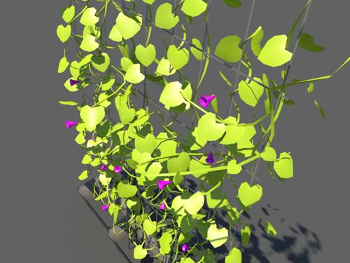 Ivy Plants 3D Model - 3D Models World