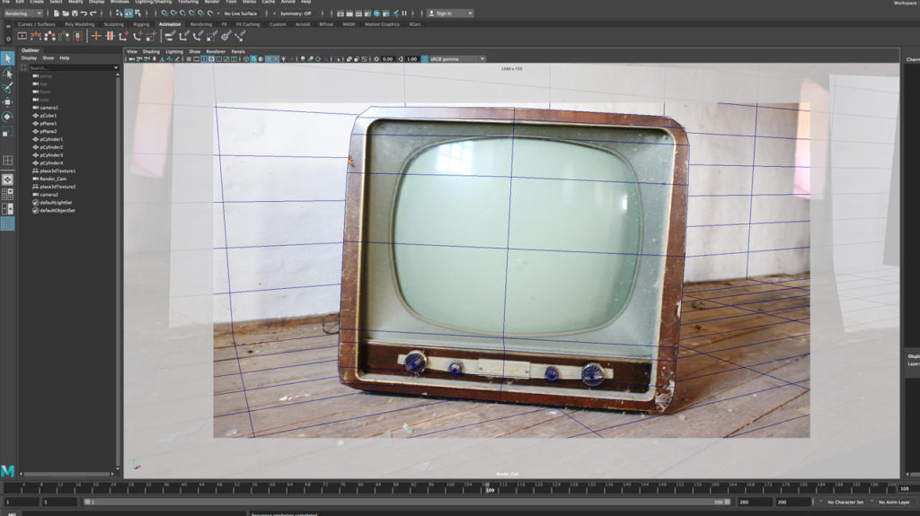 how-to-create-camera-projection-in-maya-and-arnold-tutorial-for-beginners-tut