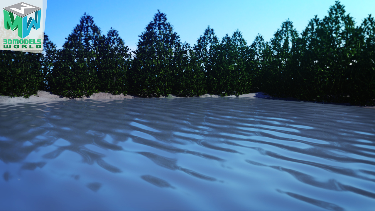 how-to-create-and-render-animated-water-shader-in-arnold-and-maya-tutorial-1