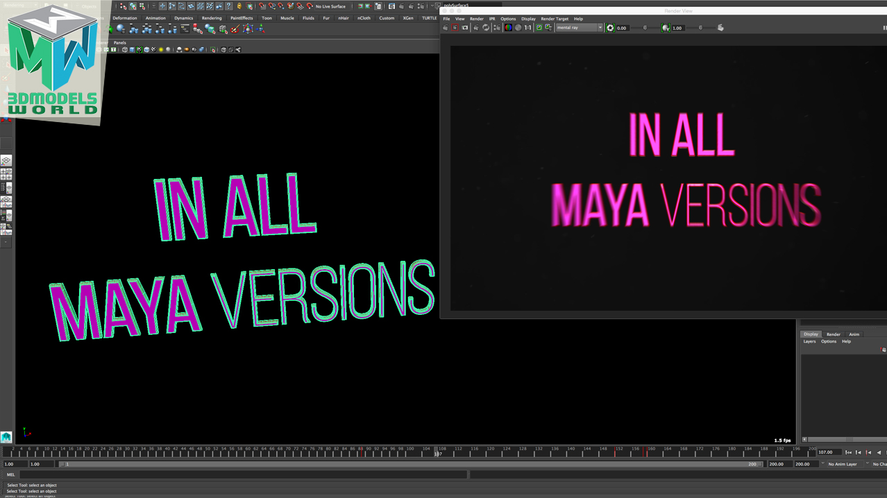 maya-tutorial-how-to-create-unique-custom-3d-text-in-maya-all-versions1