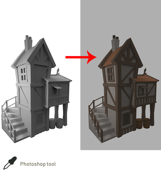 house-tower-tutorial-base-color
