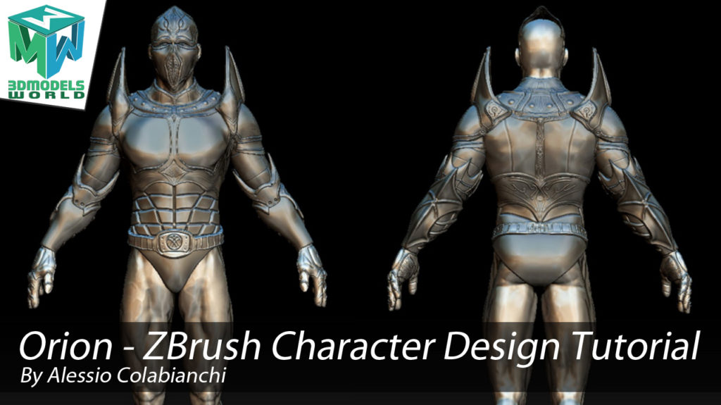 Orion - ZBrush Fantasy Character Design - Sculpting Tutorial