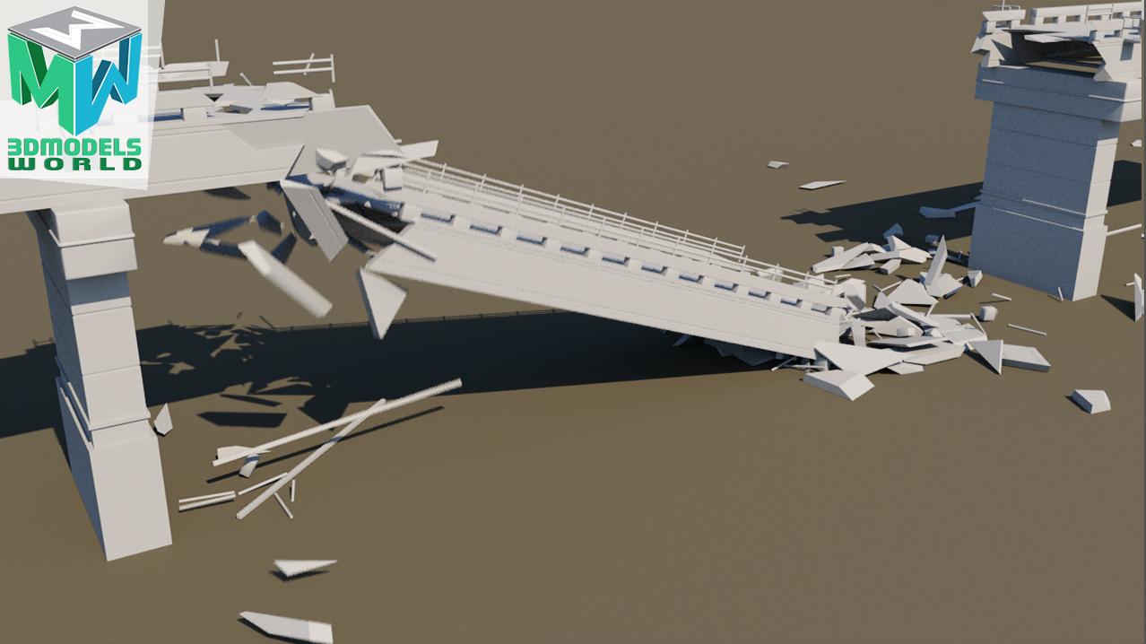 bridge-destruction-maya-dynamics-tutorial-xshatter-fx-simulation-bullet-physics-1
