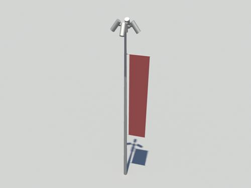 Streetlamp-3d-model-1