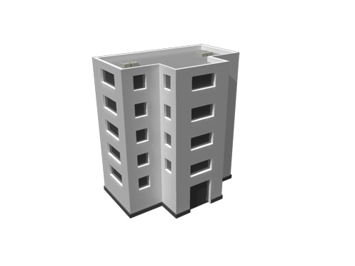 building-residential-3d-model-2