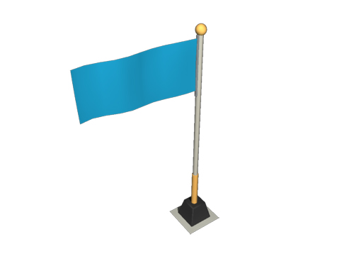flag-isometric-3d-model-1