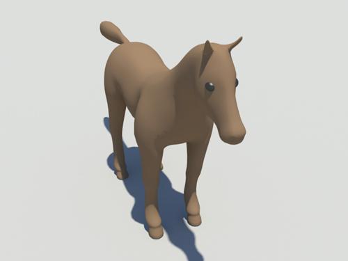 horse-stylize-3d-model-2