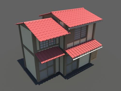 Japanese House 3d Model 15