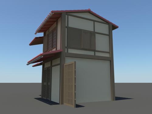 Japanese house 3d model