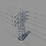powerline-3d-model-1