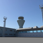 Air Traffic Control Tower 3D Model