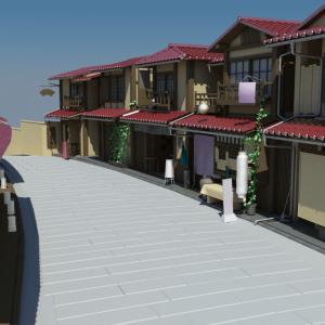 Japanese-house-neighbourhood-3d-model-1