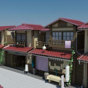 Japanese-house-neighbourhood-3d-model-11