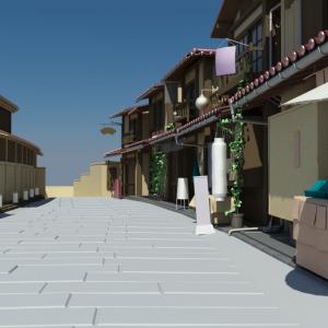Japanese-house-neighbourhood-3d-model-2