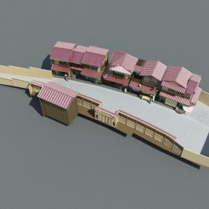 Japanese-house-neighbourhood-3d-model-7