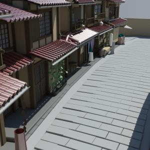 Japanese-house-neighbourhood-3d-model-8