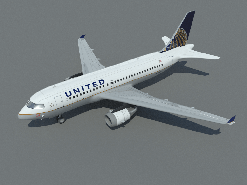 airbus-a319-3d-model-united-1