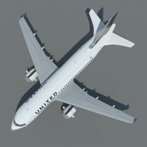airbus-a319-3d-model-united-2