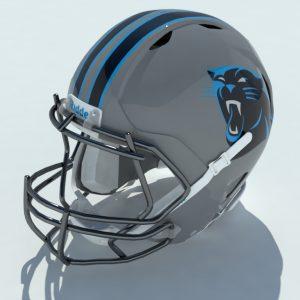 football-helmet-3d-model-panthers-1