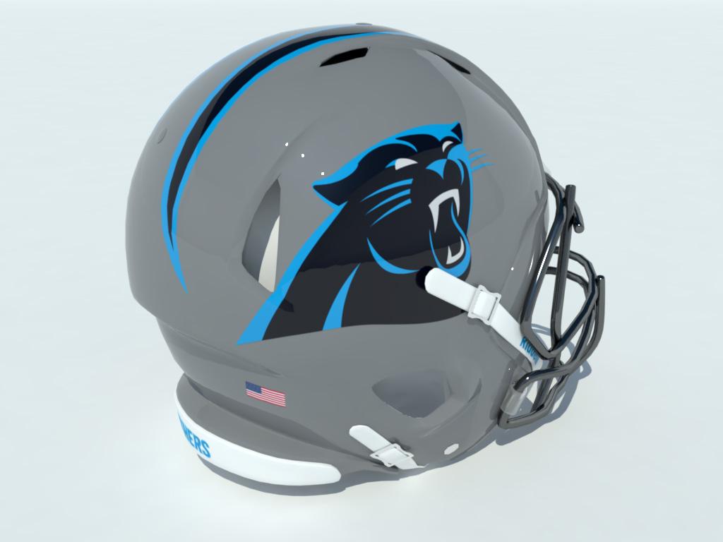 football-helmet-3d-model-panthers-4
