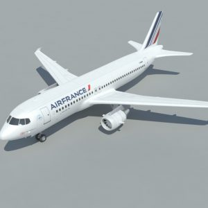 airbus-a320-3d-model-airfrance-1
