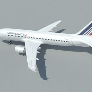 airbus-a320-3d-model-airfrance-2