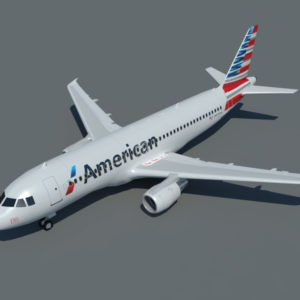airbus-a320-3d-model-american-airlines-1