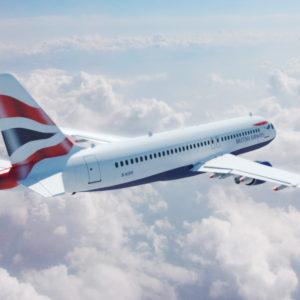 Airbus A320 British Airways 3D Model – VR – AR Ready
