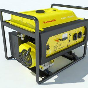 hammer-gnr5000a-electric-generator-3d-model-2