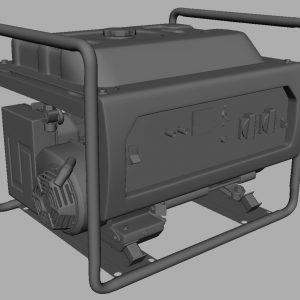 hammer-gnr5000a-electric-generator-3d-model-7