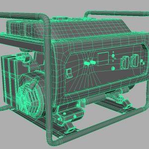hammer-gnr5000a-electric-generator-3d-model-9