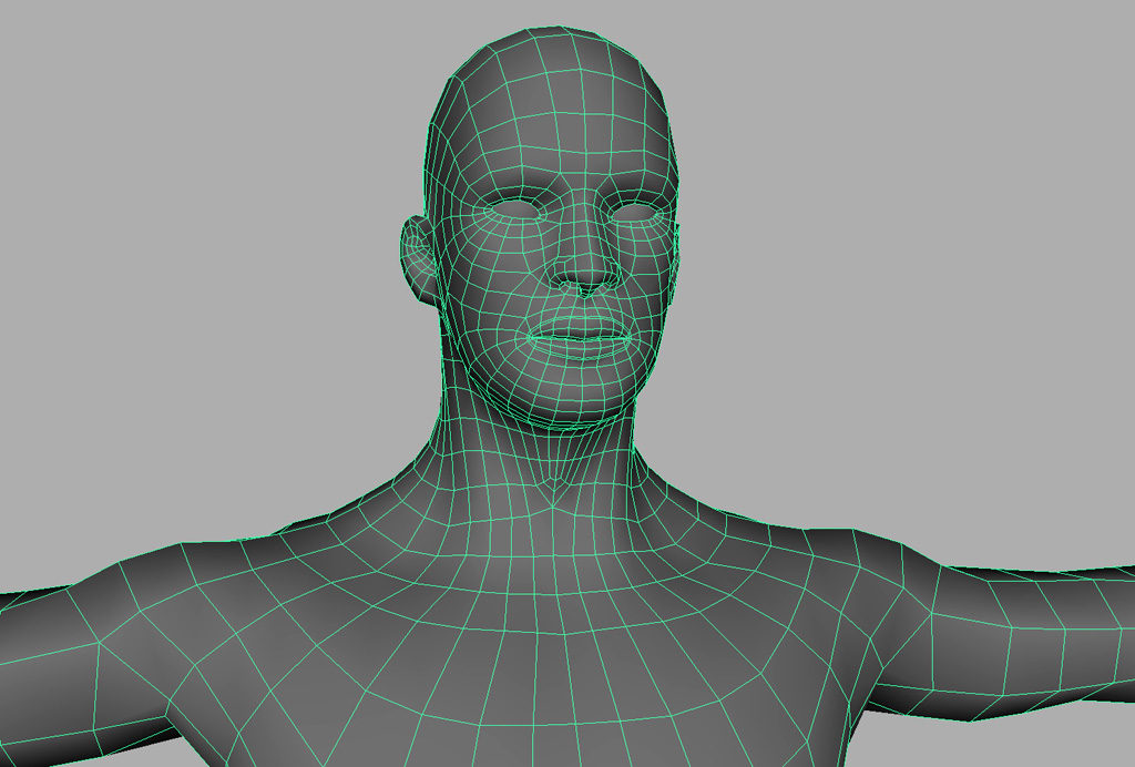Low Poly Male 3d Model Vr Ar Ready 3d Models World