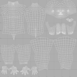 low-poly-male-3d-model-base-mesh-uv-mapping