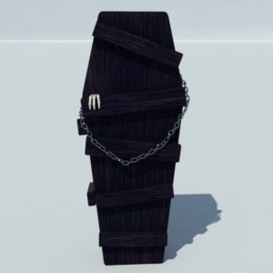 coffin-old-wood-3d-model-3