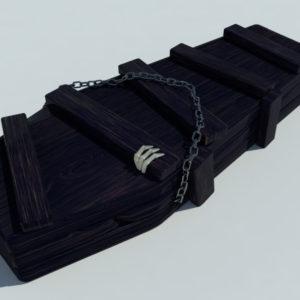 coffin-old-wood-3d-model-7
