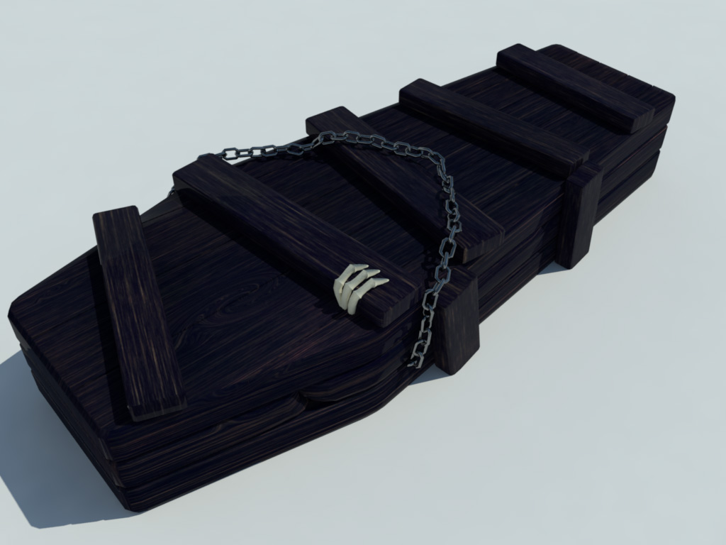 coffin-old-wood-3d-model-7