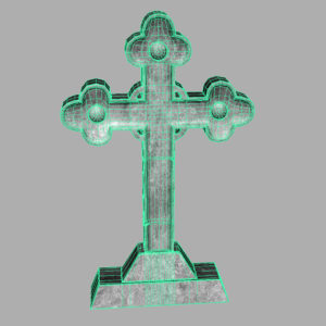 gravestone-cross-3d-model-5
