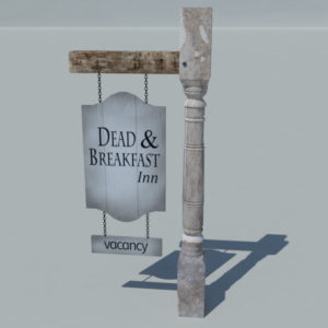 sign-hunted-old-wood-3d-model-dead-and-breakfast-1