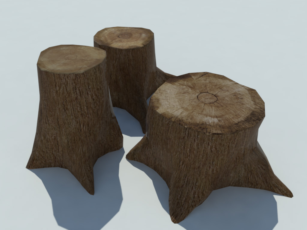 tree-stump-3d-model-3