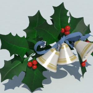 christmas-bells-with-holly-leaves-3d-model-2