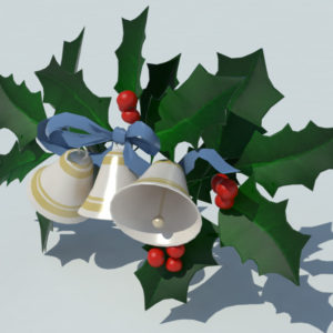 christmas-bells-with-holly-leaves-3d-model-3