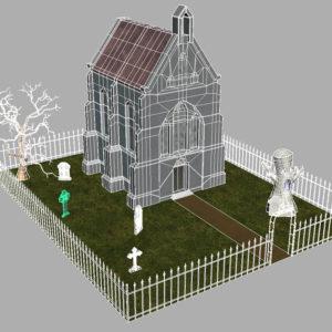 haunted-graveyard-church-3d-model-13