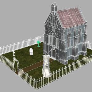 haunted-graveyard-church-3d-model-14