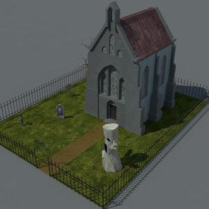 haunted-graveyard-church-3d-model-16