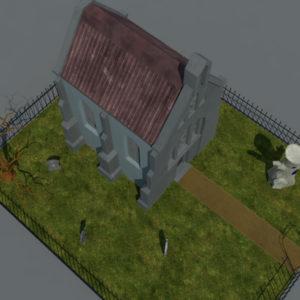 haunted-graveyard-church-3d-model-5