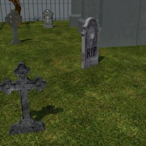 haunted-graveyard-church-3d-model-6