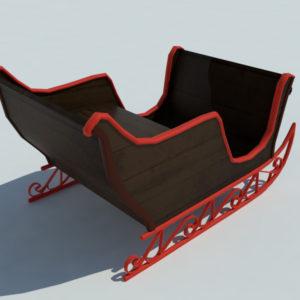 sleigh-3d-model-2