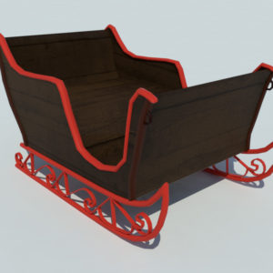sleigh-3d-model-5