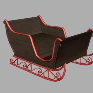sleigh-3d-model-6